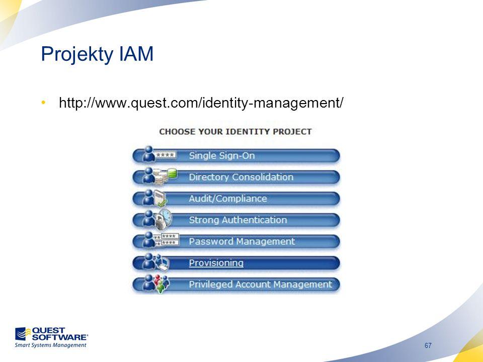 Projekty IAM http://www.quest.com/identity-management/