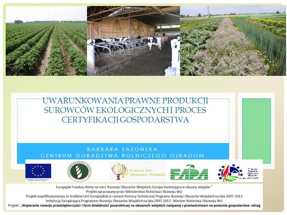 Barbara Sazońska Centrum Doradztwa Rolniczego O/Radom