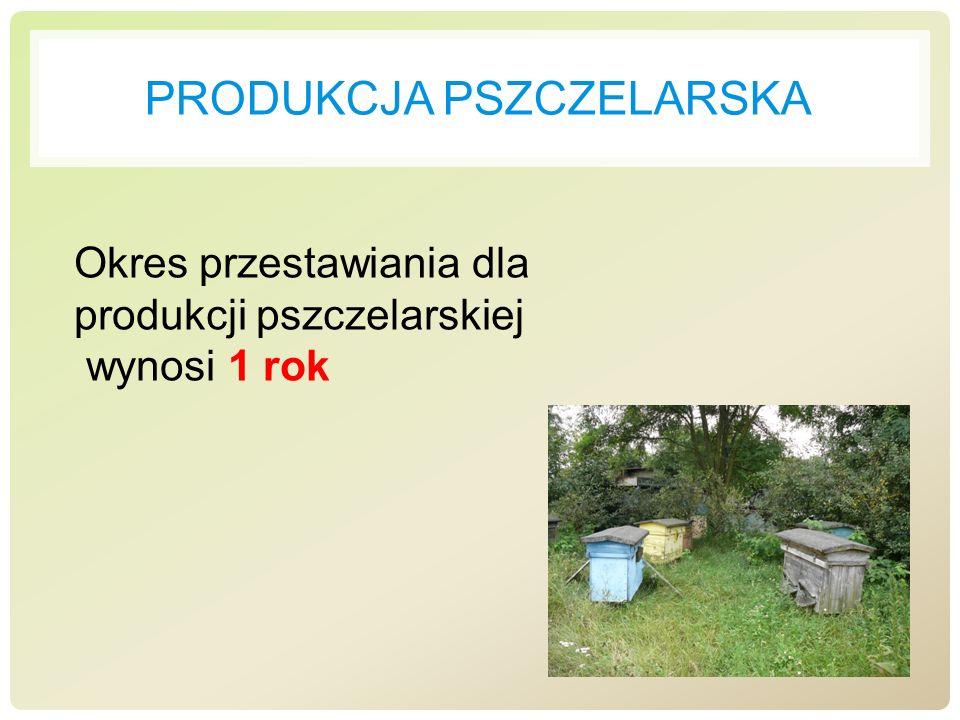 Produkcja pszczelarska
