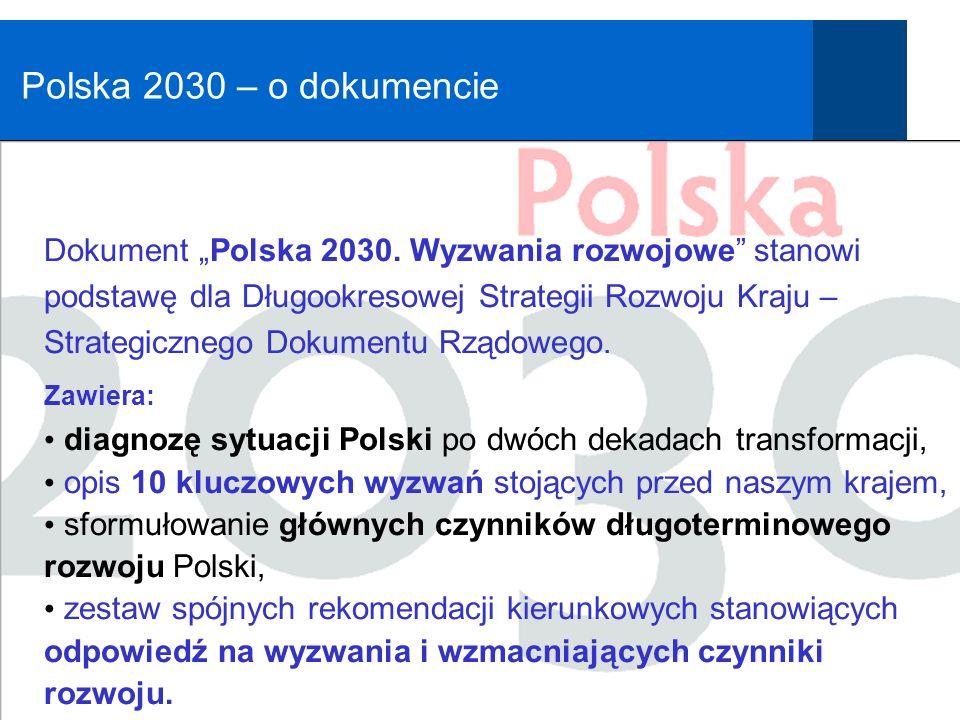 Polska 2030 – o dokumencie Nową busolą powinien być projekt cywilizacyjny adekwatny do wyzwań przyszłości.