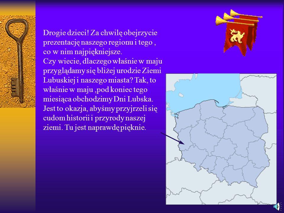 Drogie dzieci! Za chwilę obejrzycie prezentację naszego regionu i tego , co w nim najpiękniejsze.