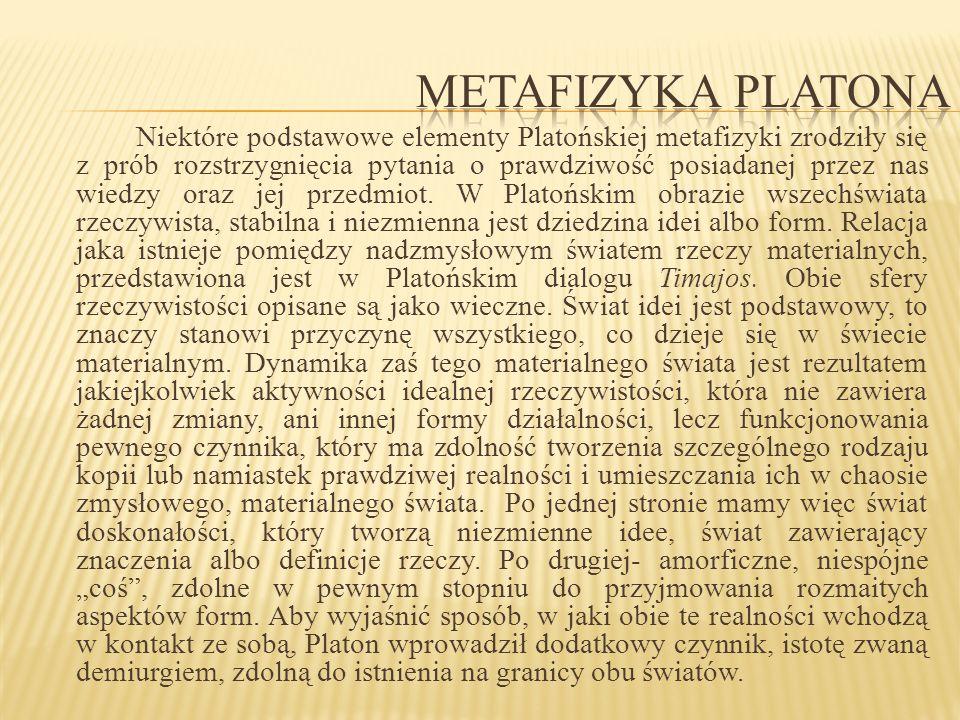 Metafizyka Platona