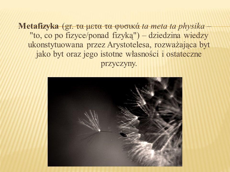 Metafizyka (gr.