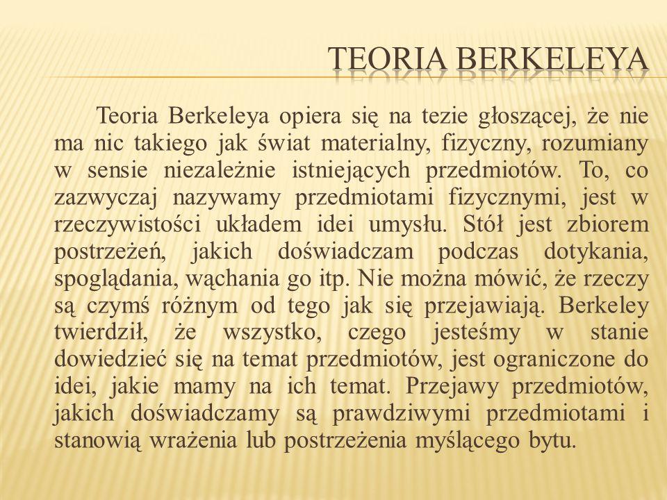Teoria Berkeleya