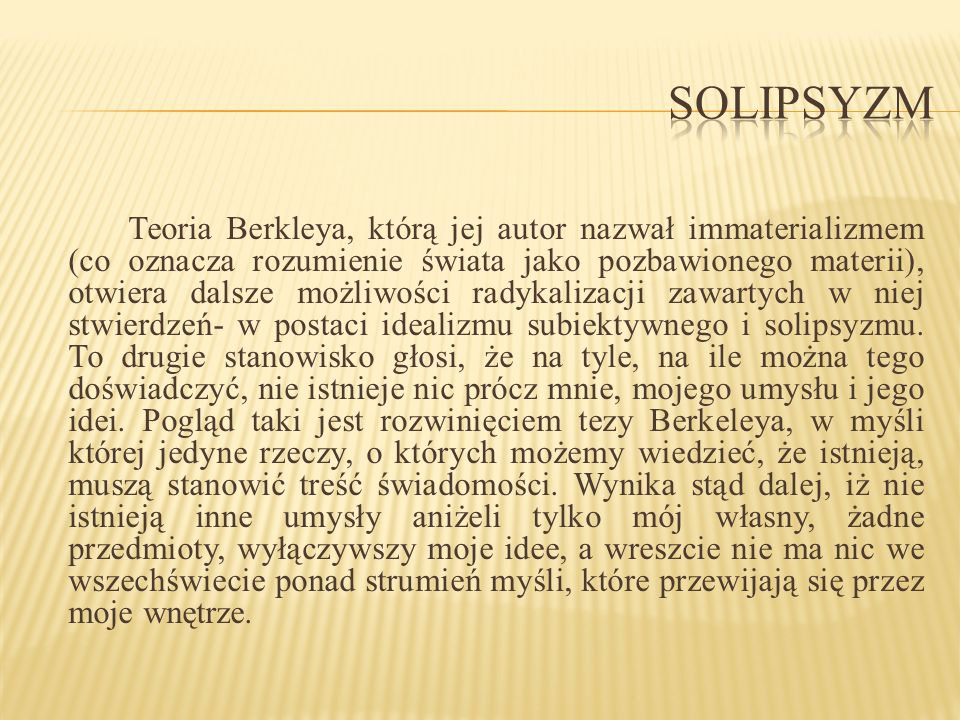 Solipsyzm