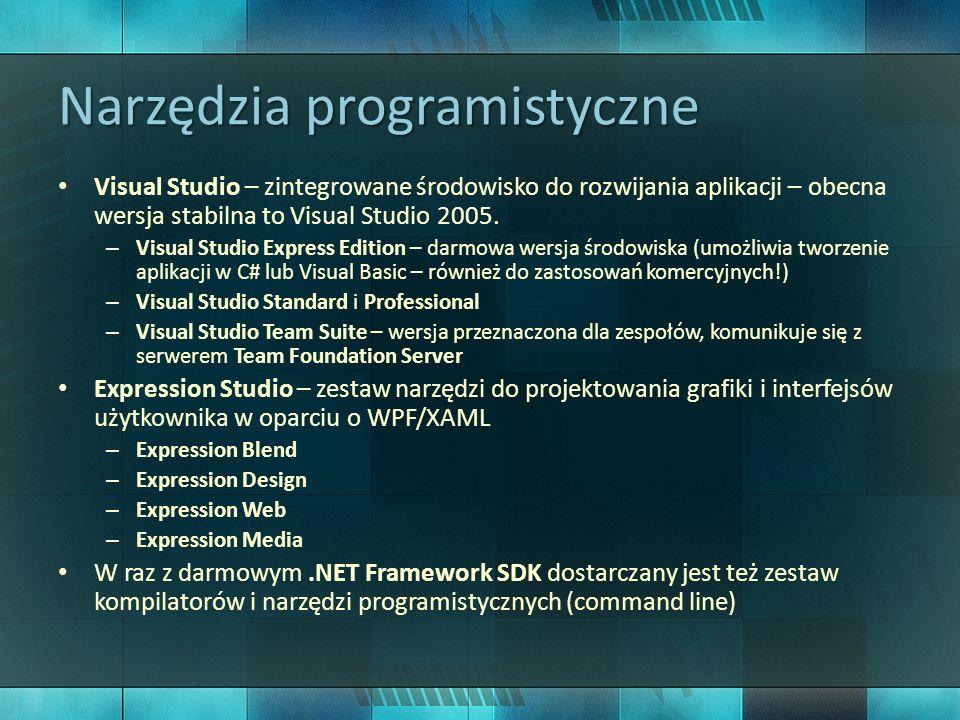 Narzędzia programistyczne