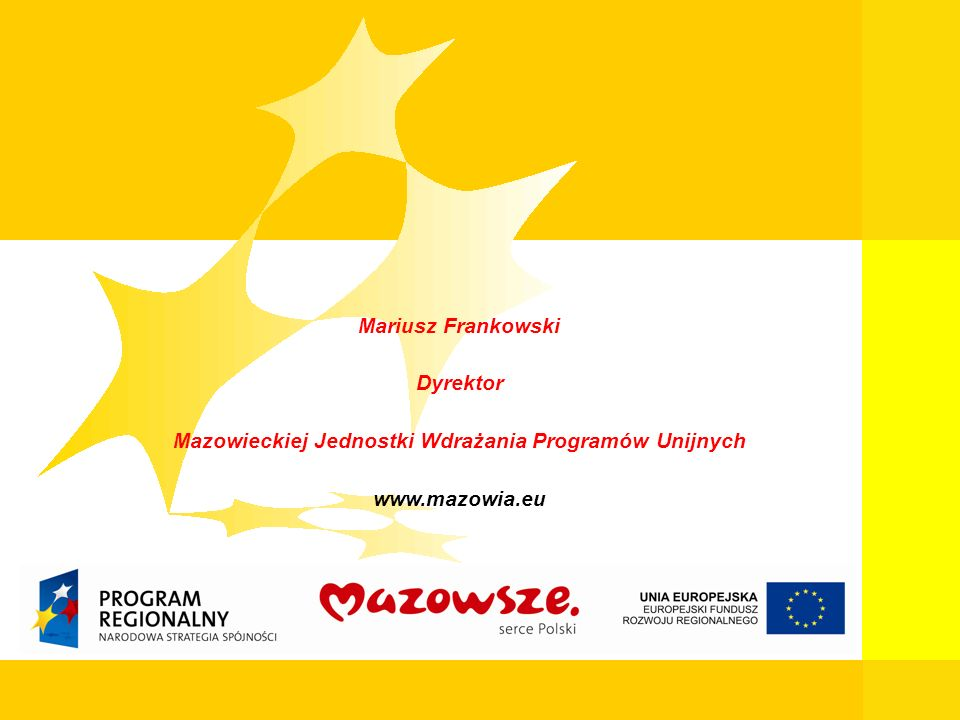 Mazowieckiej Jednostki Wdrażania Programów Unijnych