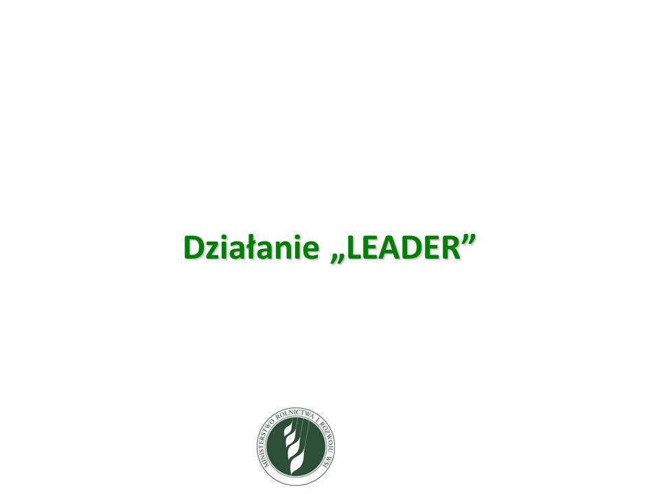 """Działanie """"LEADER"""