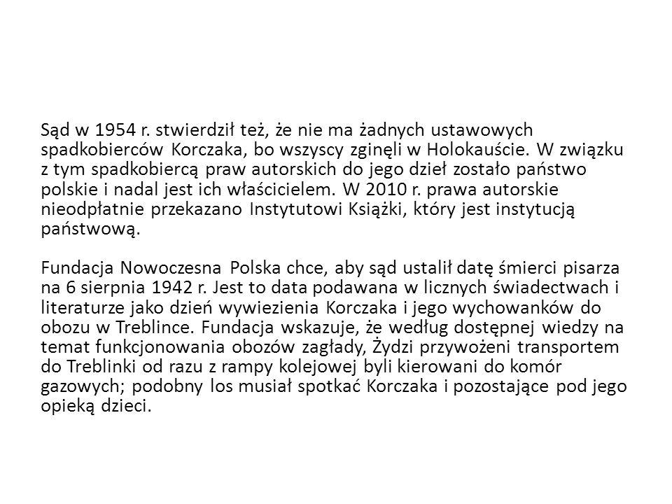 Sąd w 1954 r.