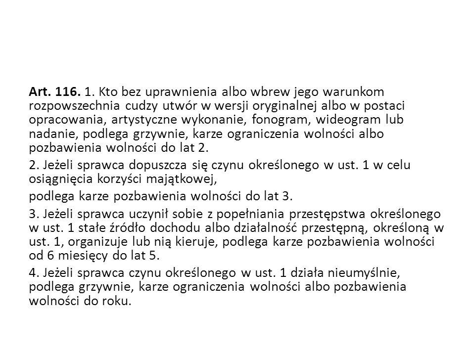 Art. 116. 1.