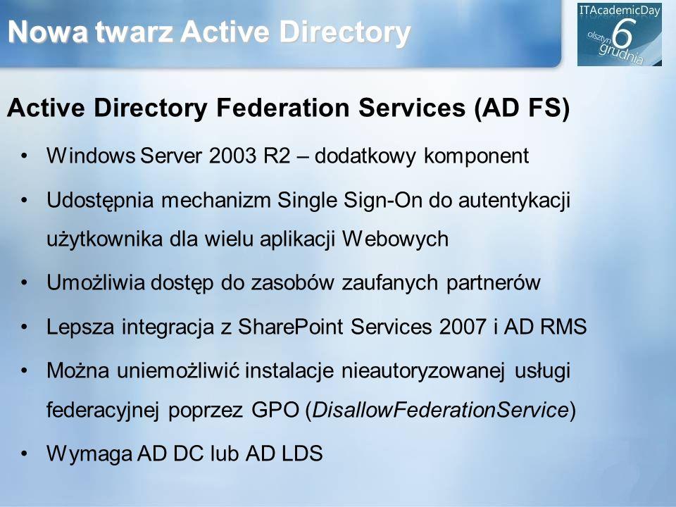 Nowa twarz Active Directory