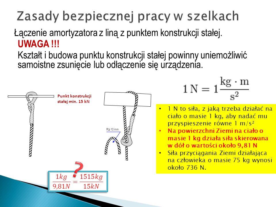 Zasady bezpiecznej pracy w szelkach