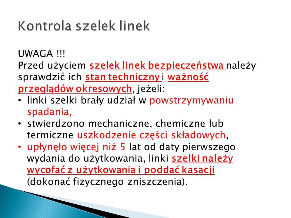 Kontrola szelek linek UWAGA !!!