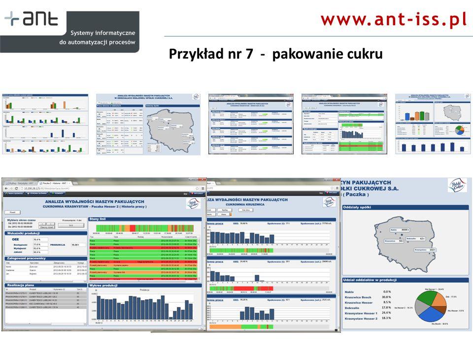 www.ant-iss.pl Przykład nr 7 - pakowanie cukru