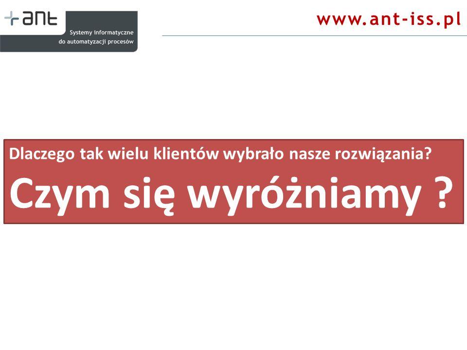 Czym się wyróżniamy www.ant-iss.pl