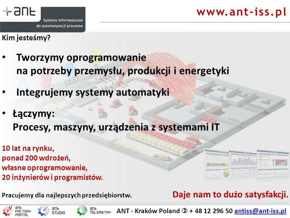 Tworzymy oprogramowanie na potrzeby przemysłu, produkcji i energetyki