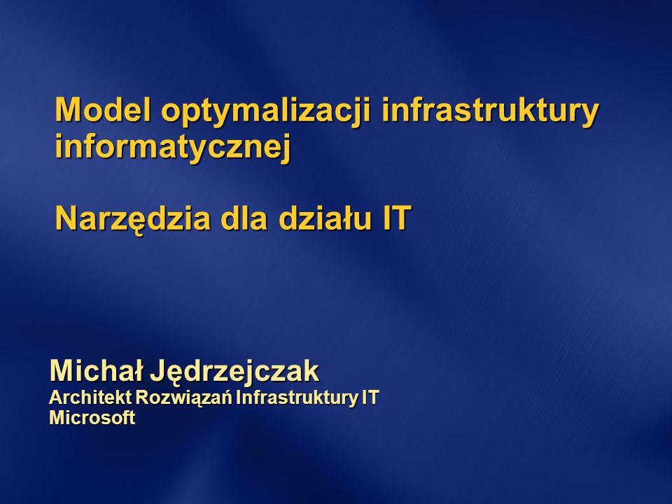 Michał Jędrzejczak Architekt Rozwiązań Infrastruktury IT Microsoft