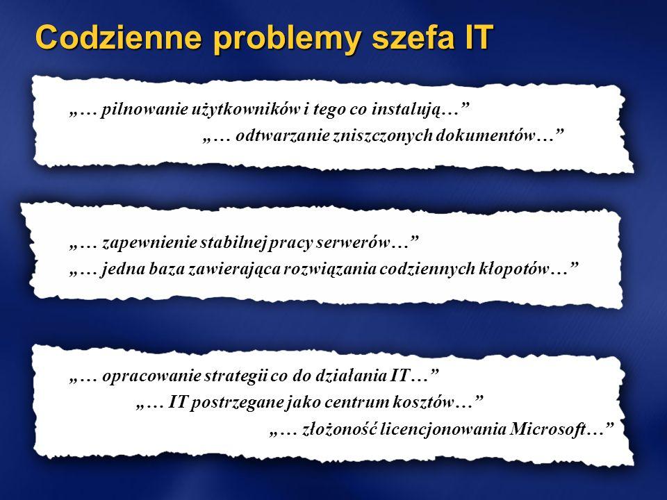 Codzienne problemy szefa IT