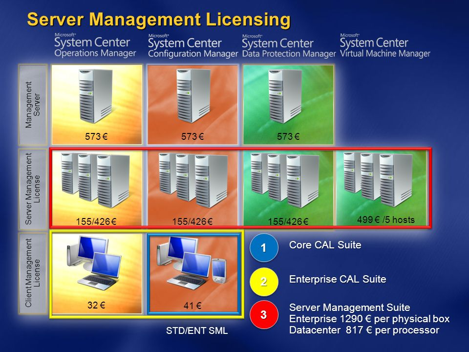 Server Management Licensing