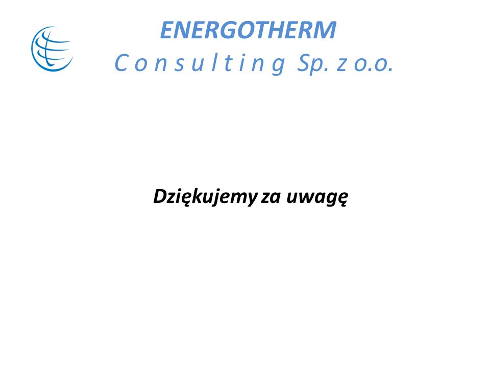 ENERGOTHERM C o n s u l t i n g Sp. z o.o.