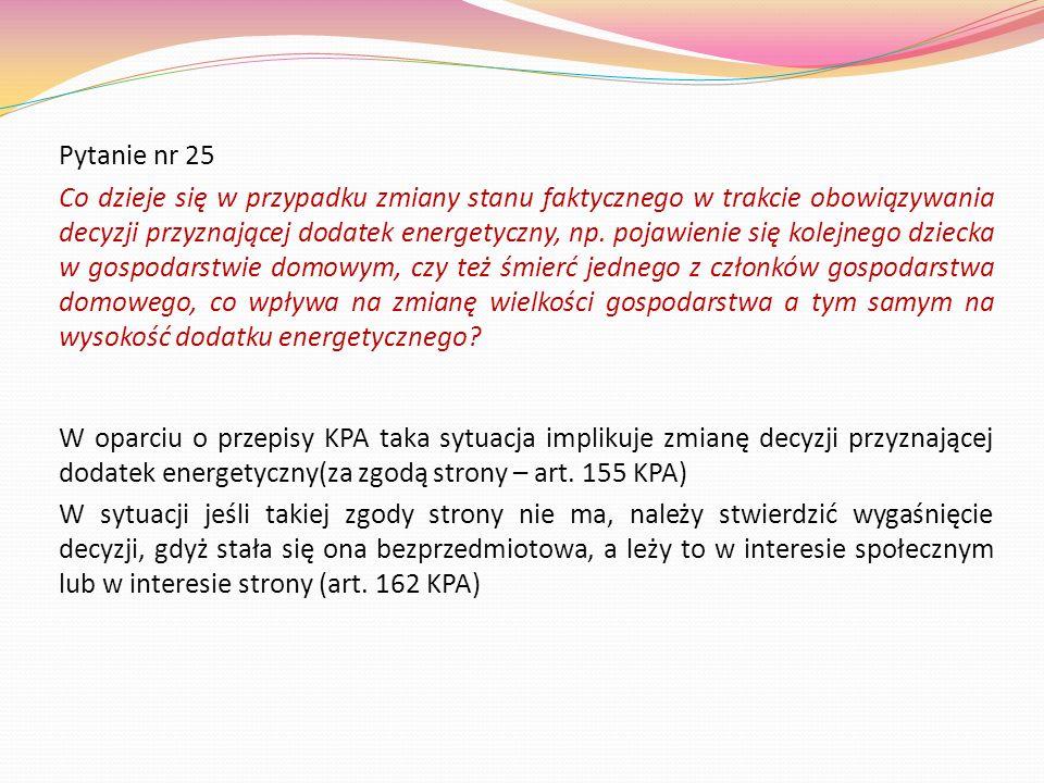 Pytanie nr 25