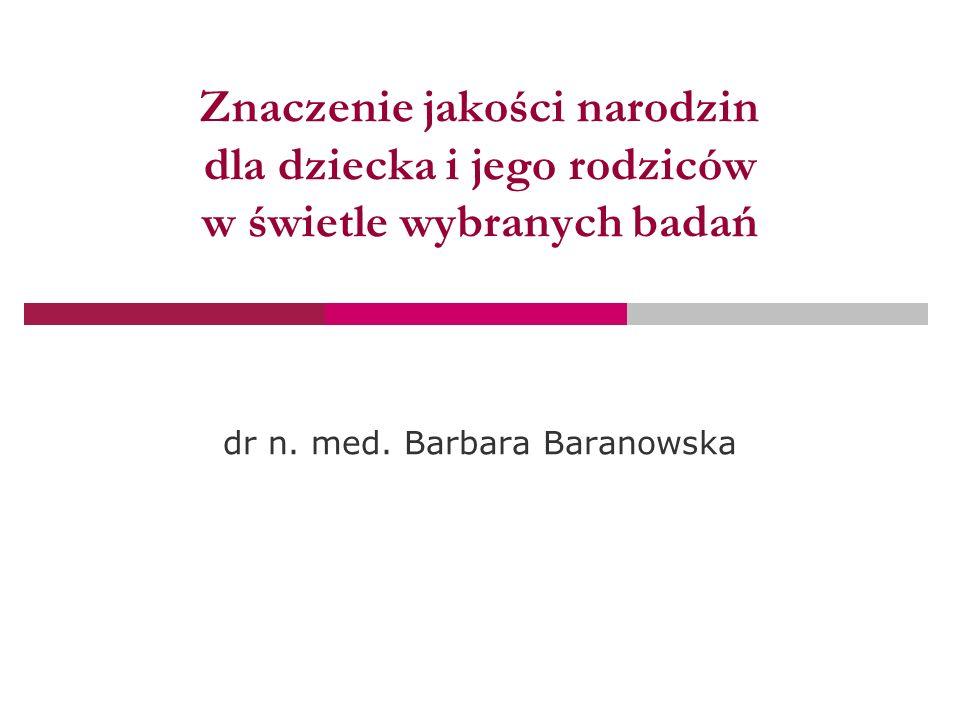 dr n. med. Barbara Baranowska