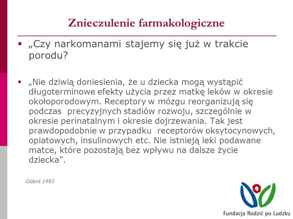 Znieczulenie farmakologiczne