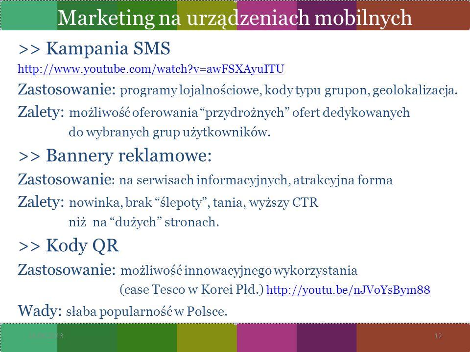 Marketing na urządzeniach mobilnych