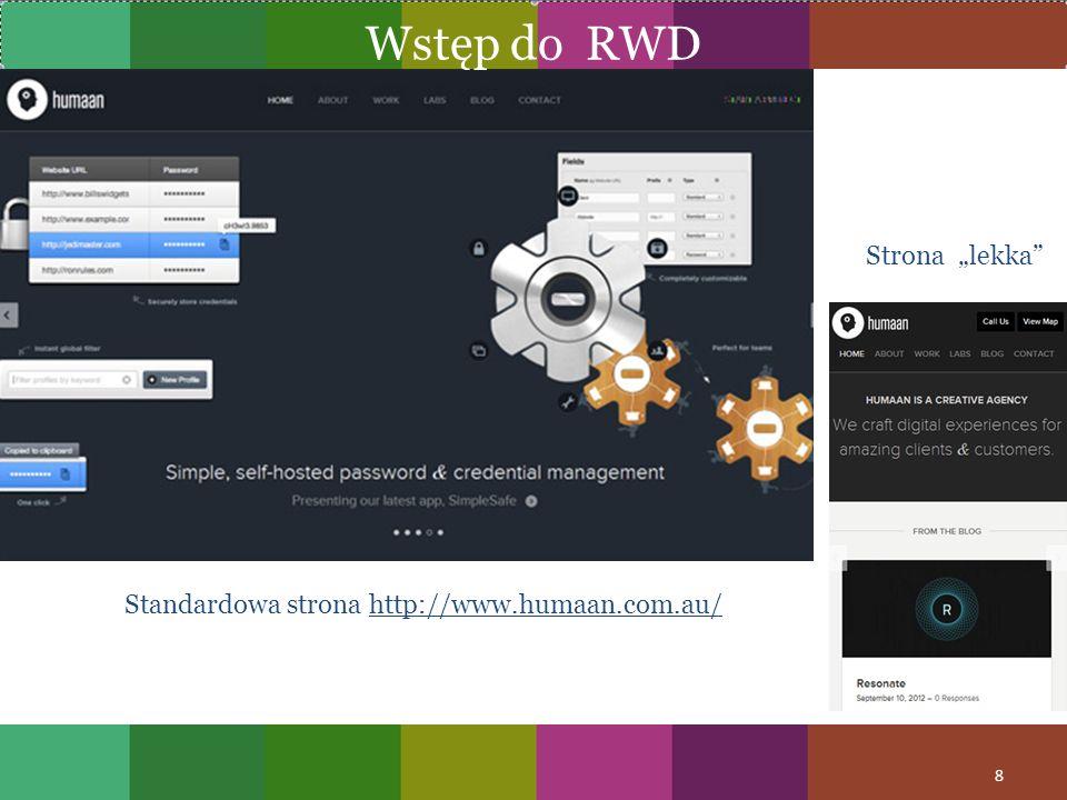 Standardowa strona http://www.humaan.com.au/