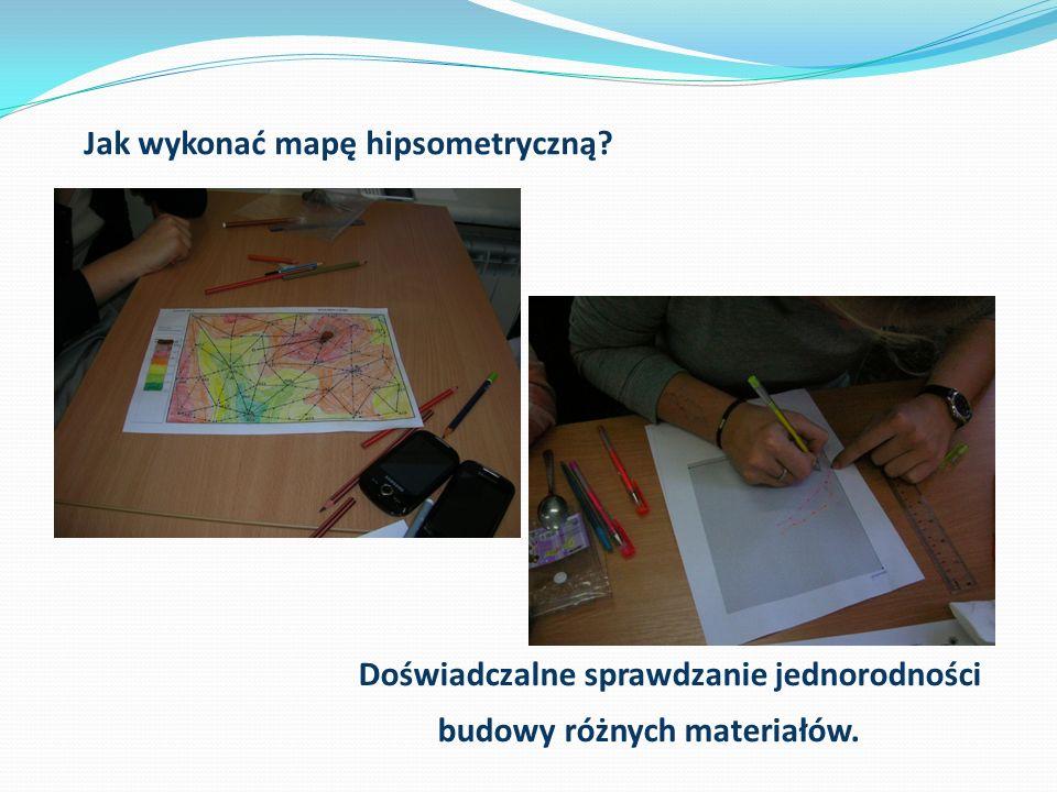 Jak wykonać mapę hipsometryczną