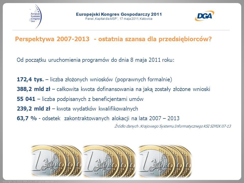 Perspektywa 2007-2013 - ostatnia szansa dla przedsiębiorców