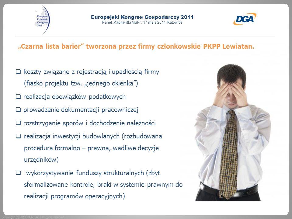"""""""Czarna lista barier tworzona przez firmy członkowskie PKPP Lewiatan."""
