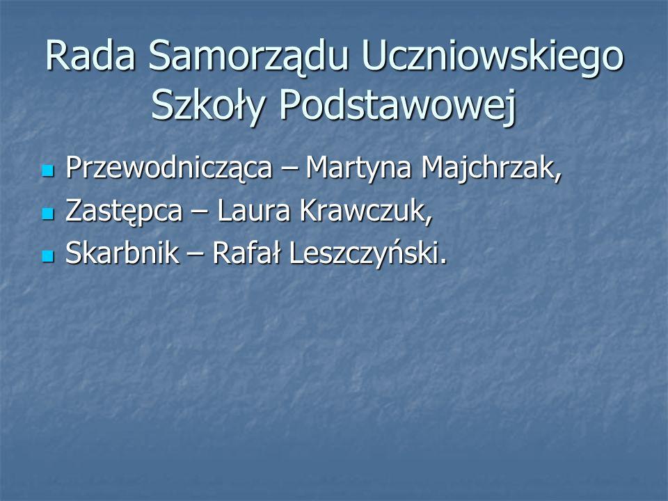 Rada Samorządu Uczniowskiego Szkoły Podstawowej