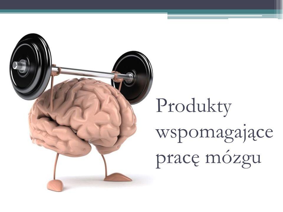 Produkty wspomagające pracę mózgu