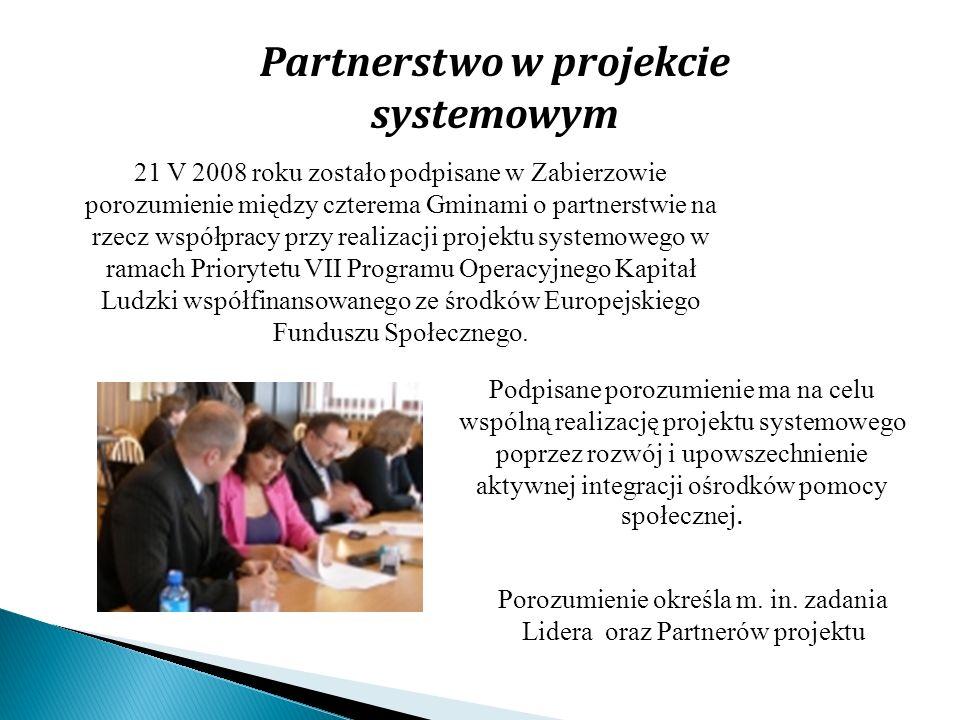 Partnerstwo w projekcie systemowym