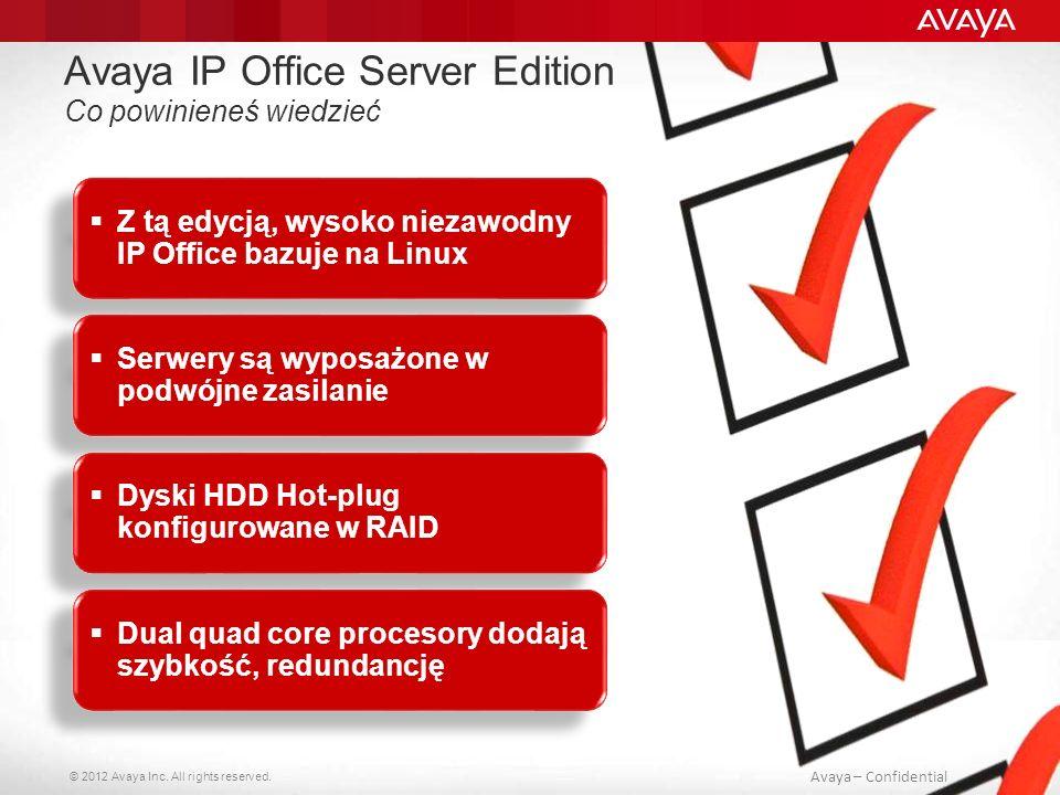 Avaya IP Office Server Edition Co powinieneś wiedzieć