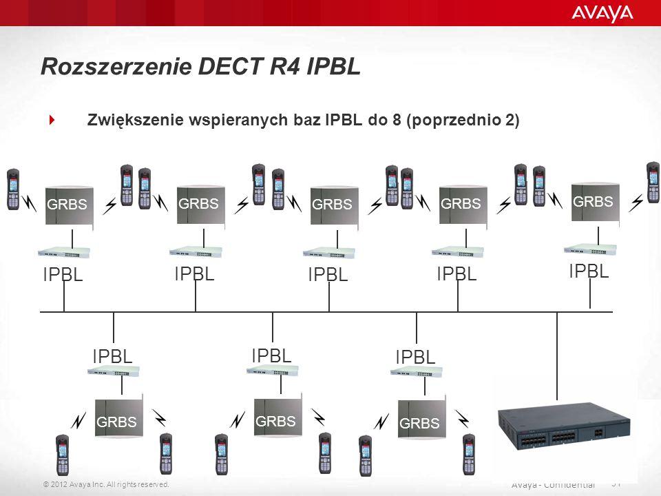 Rozszerzenie DECT R4 IPBL