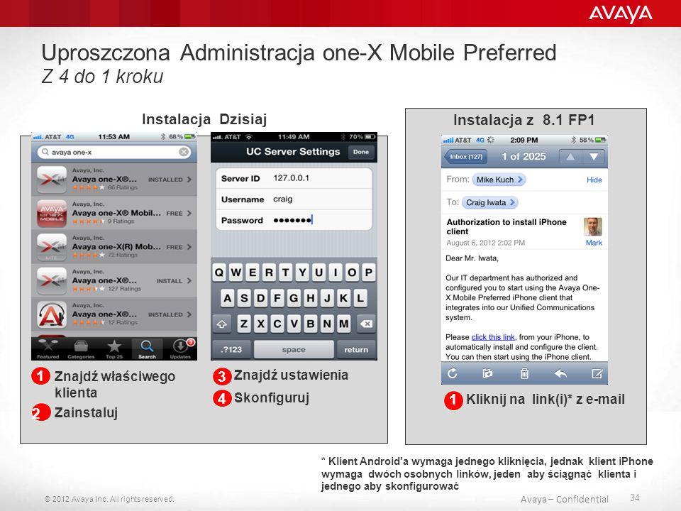 Uproszczona Administracja one-X Mobile Preferred Z 4 do 1 kroku