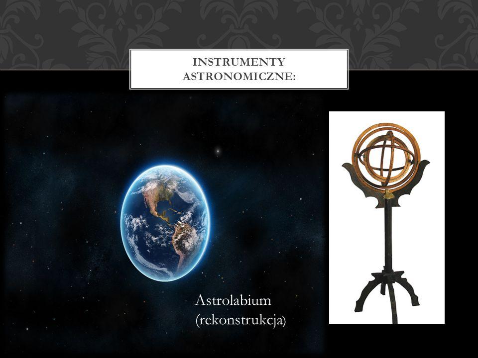 Instrumenty astronomiczne: