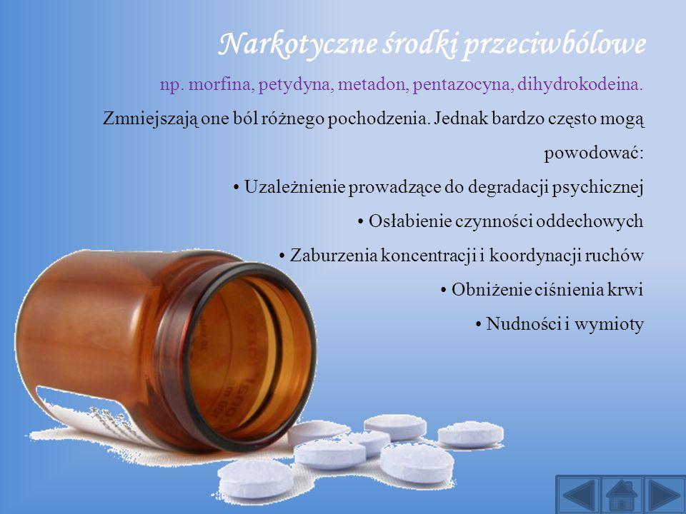 Narkotyczne środki przeciwbólowe