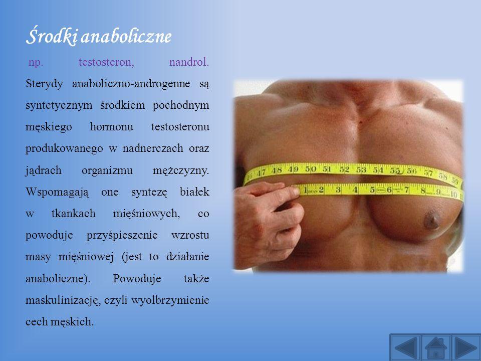 Środki anaboliczne
