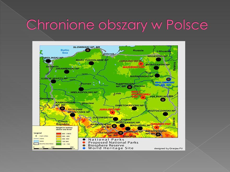 Chronione obszary w Polsce