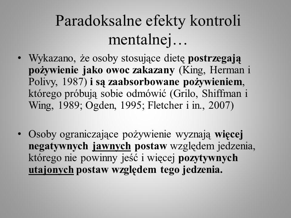 Paradoksalne efekty kontroli mentalnej…