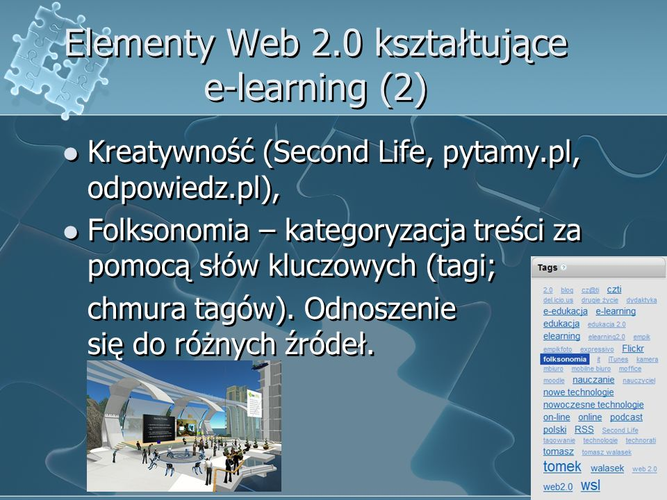 Elementy Web 2.0 kształtujące e-learning (2)