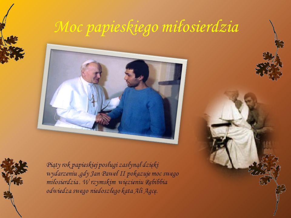 Moc papieskiego miłosierdzia