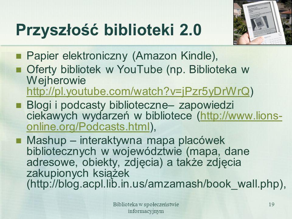 Przyszłość biblioteki 2.0