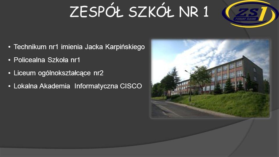Zespół szkół nr 1 • Technikum nr1 imienia Jacka Karpińskiego