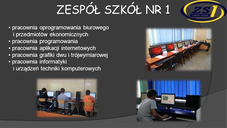 Zespół szkół nr 1 • pracownia oprogramowania biurowego