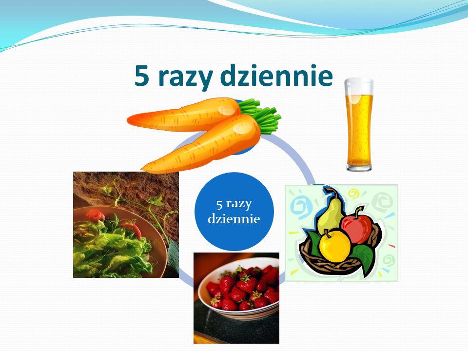 5 razy dziennie 5 razy dziennie marchew jabłko