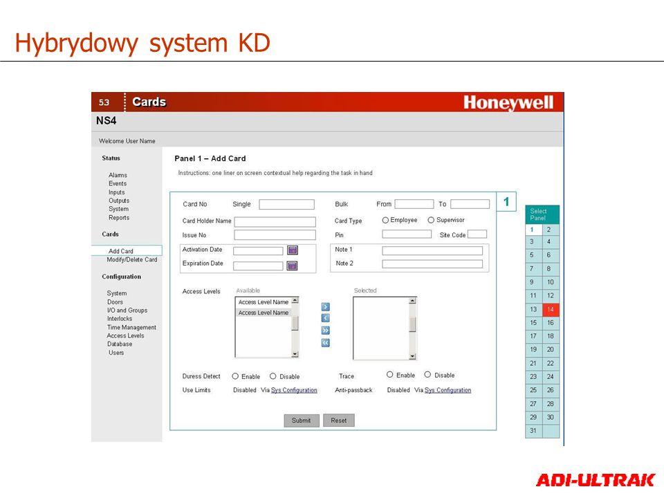 Hybrydowy system KD